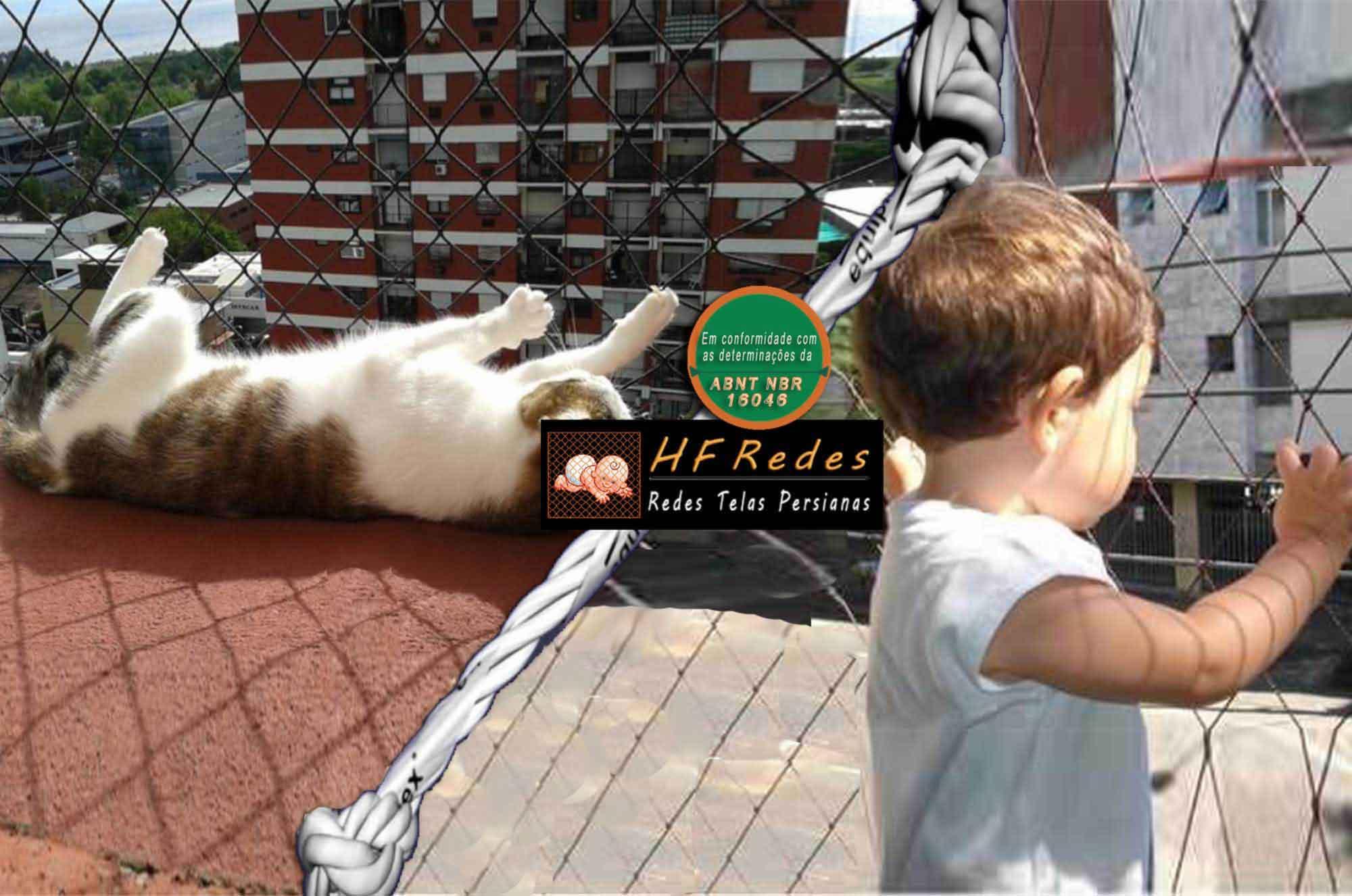 [HF Redes - Proteja seu filhos e animais domésticos com redes de proteção, Rede de proteção para janelas, Telas de Proteção, Telas mosquiteiras, Tela para janela]
